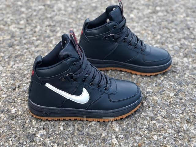 Подростковые, женские зимние кроссовки Nike Air Force реплика