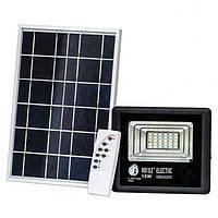 Светодиодный прожектор на солнечной батарее 10W 6400K Horoz TIGER-10