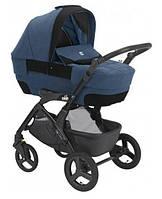 Универсальная коляска Cam 3в1 Dinamico Up Rover, на черной раме, цвет синий