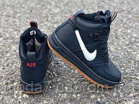 Подростковые, женские зимние кроссовки Nike Air Force реплика, фото 2
