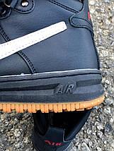 Подростковые, женские зимние кроссовки Nike Air Force реплика, фото 3