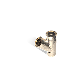 Версия-Люкс (Кривой-Рог) Тройник угол 45 н/н, толщиной 0,5 мм, диаметр 110мм