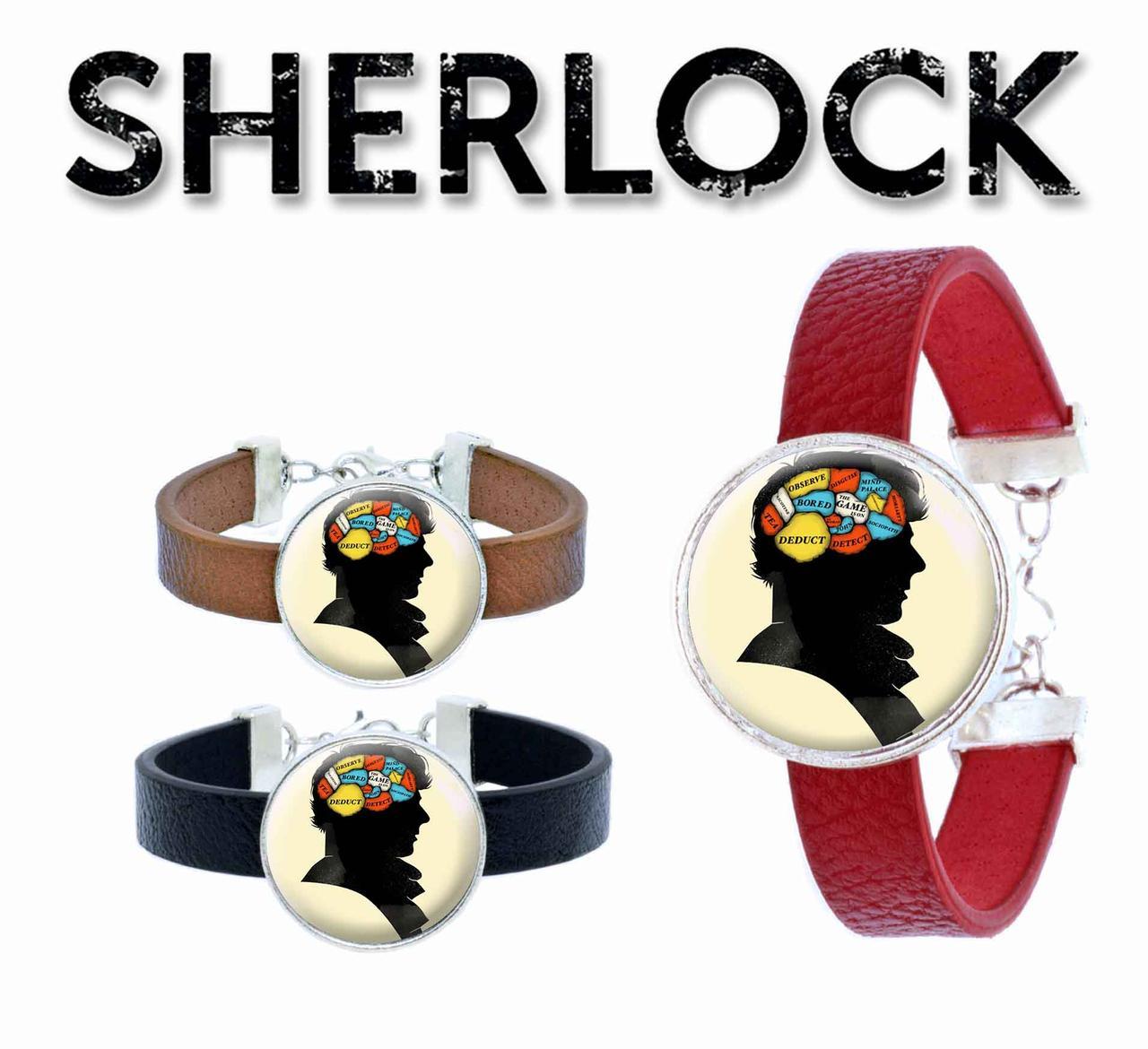 Браслет Мысли Шерлока Шерлок / Sherlock