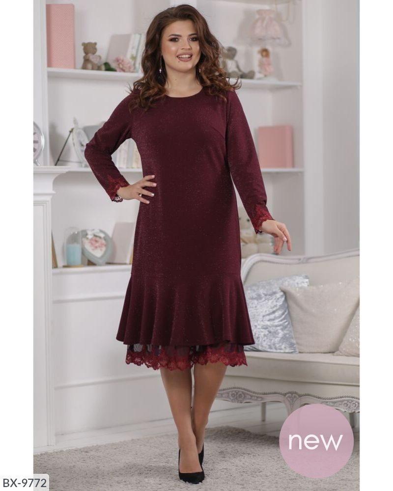 Стильне плаття (розміри 50-56) 0213-19