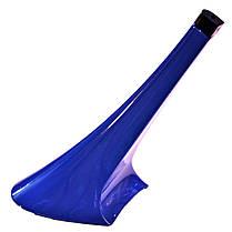 Каблук женский пластиковый 11010 синий р.1-3  h-11,0-12,0 см., фото 2