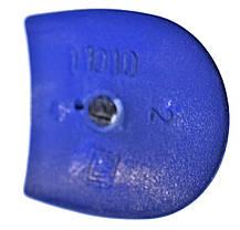 Каблук женский пластиковый 11010 синий р.1-3  h-11,0-12,0 см., фото 3