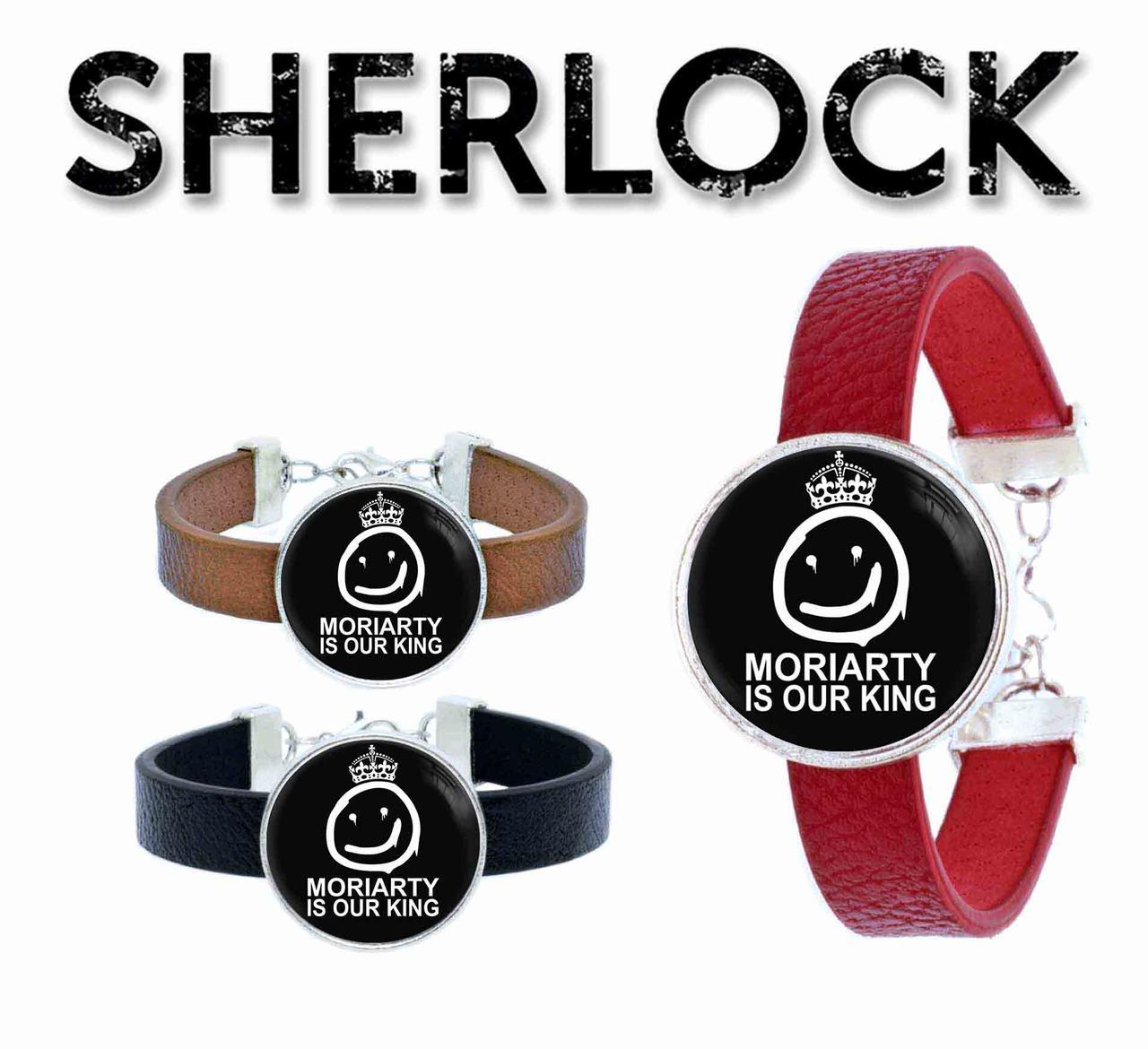 Браслет Мориарти наш король Шерлок / Sherlock