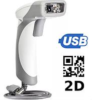 Б/У Проводной сканер CodeCorp CR1400 быстрый 2D штрих кода из США Качество, гарантия