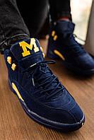 Кроссовки мужские в стиле Nike Air Jordan 12 (Реплика ААА+)