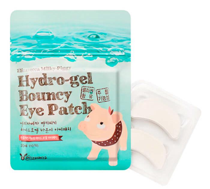 Гидрогелевые патчи для области под глазами Elizavecca Milky Piggy Pure Hydro Gel Bouncy Eye Patch