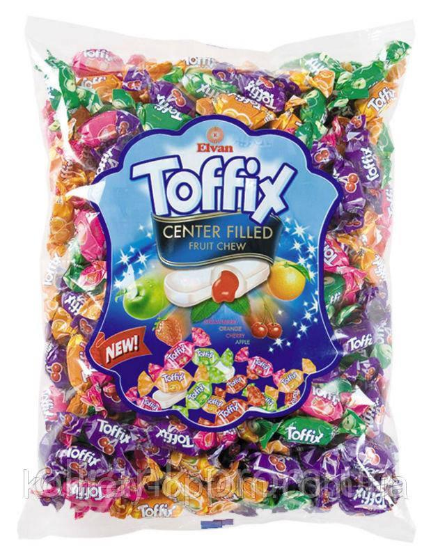 Конфеты Тоффикc 1 кг toffix mix, Toffix  фруктовый
