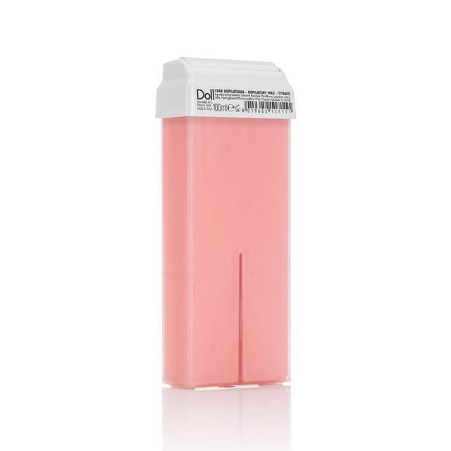 Воск в картридже ,,DOLL,, (розовый с диоксидом титана) 100 мл.
