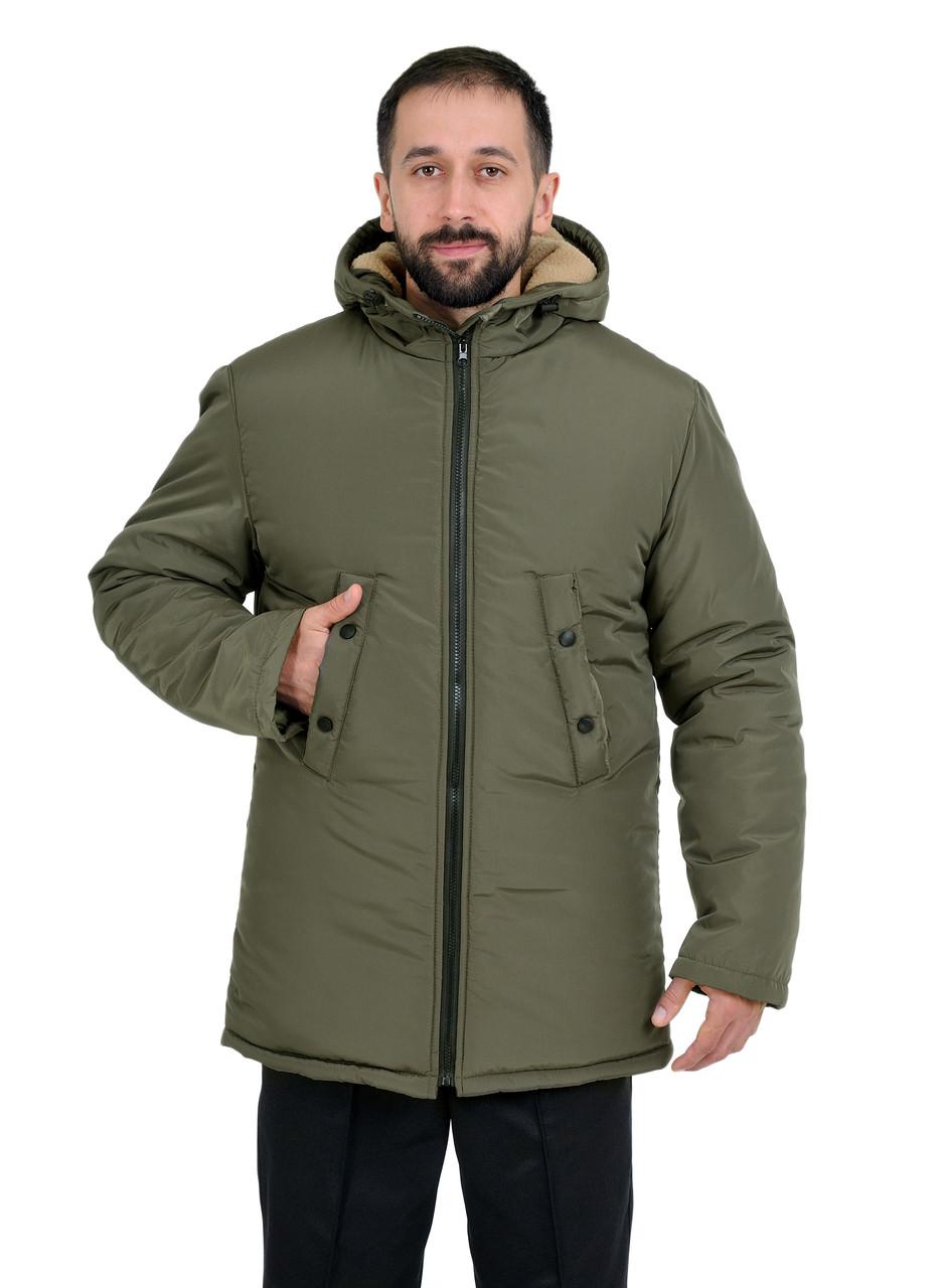 """Куртка  """"Аляска"""" ОЛИВА"""