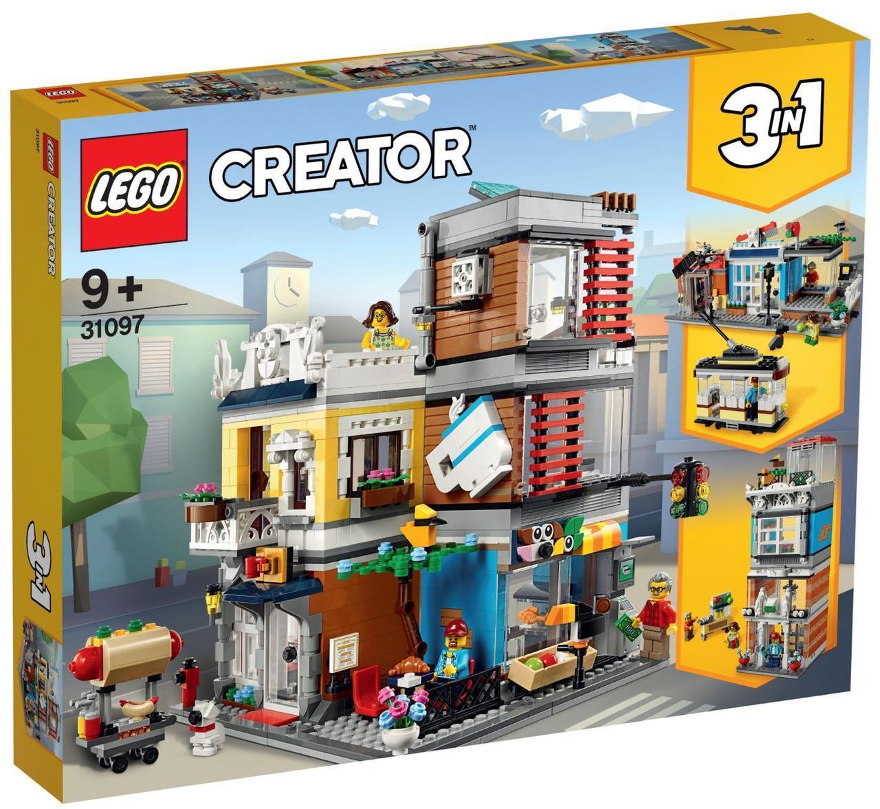 Lego Creator Зоомагазин і кафе в центрі міста 31097