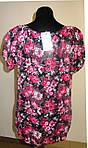 Женская одежда блузы ,тонкая вискоза , холодок ,100% вискоза , 50,52,54,56, БЛ 037-7., фото 5
