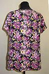 Женская одежда блузы ,тонкая вискоза , холодок ,100% вискоза , 50,52,54,56, БЛ 037-7., фото 3