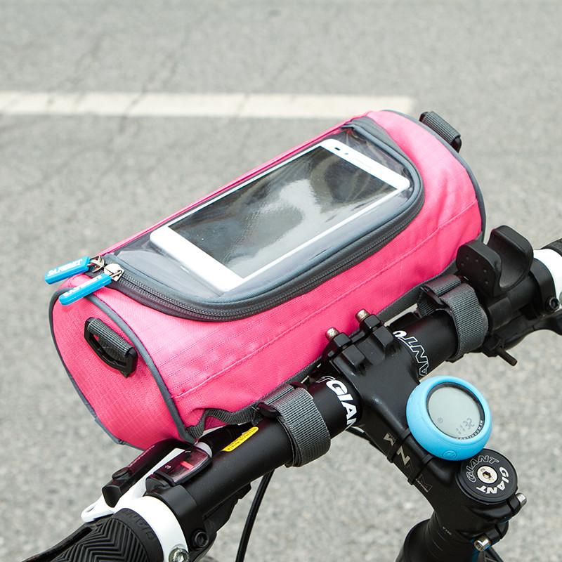 Сумка для велосипеда Genner фуксия 02017/04