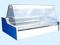 Витрина холодильная настольная ВХСн - 1.0 с прямым стеклом