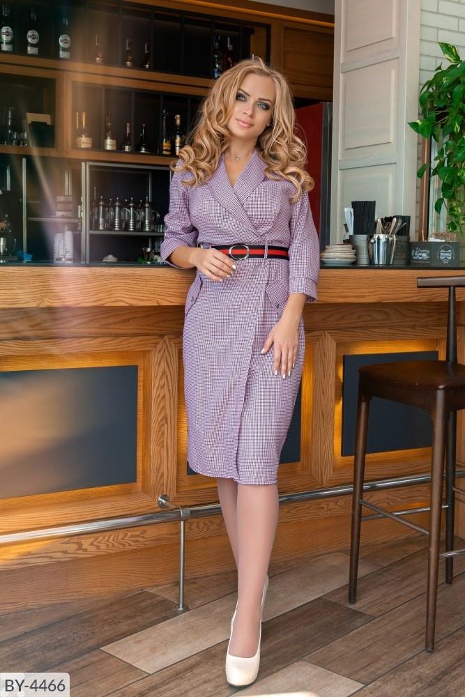 Стильное платье  (размеры 50-56) 0213-25