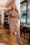 Стильное платье  (размеры 50-56) 0213-25, фото 2