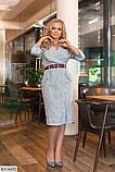 Стильное платье  (размеры 50-56) 0213-25, фото 3