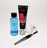 Стартовый набор для наращивания ногтей полигелем Starlet Professional (без лампы)