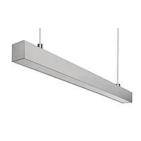 Линейный подвесной LED светильник 3200lm 100 см. 36 W. С тросами 1,5-2метра