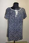 Модные блузки, тонкая вискоза , холодок ,100% вискоза , 50,52,54,56, БЛ 037-8., фото 3