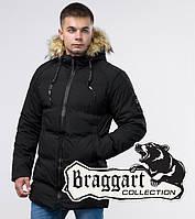 Braggart Youth   Зимняя куртка 25270 черная, фото 1
