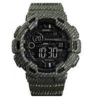Skmei 1472 champion зеленые мужские спортивные часы, фото 1