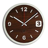 Настенные часы Декор Карпаты Loft Темно-коричневый (UGT010A)