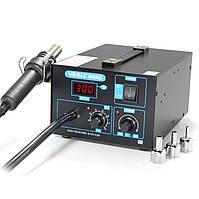 Паяльная станция YIHUA 850AD компрессорная, металлический корпус