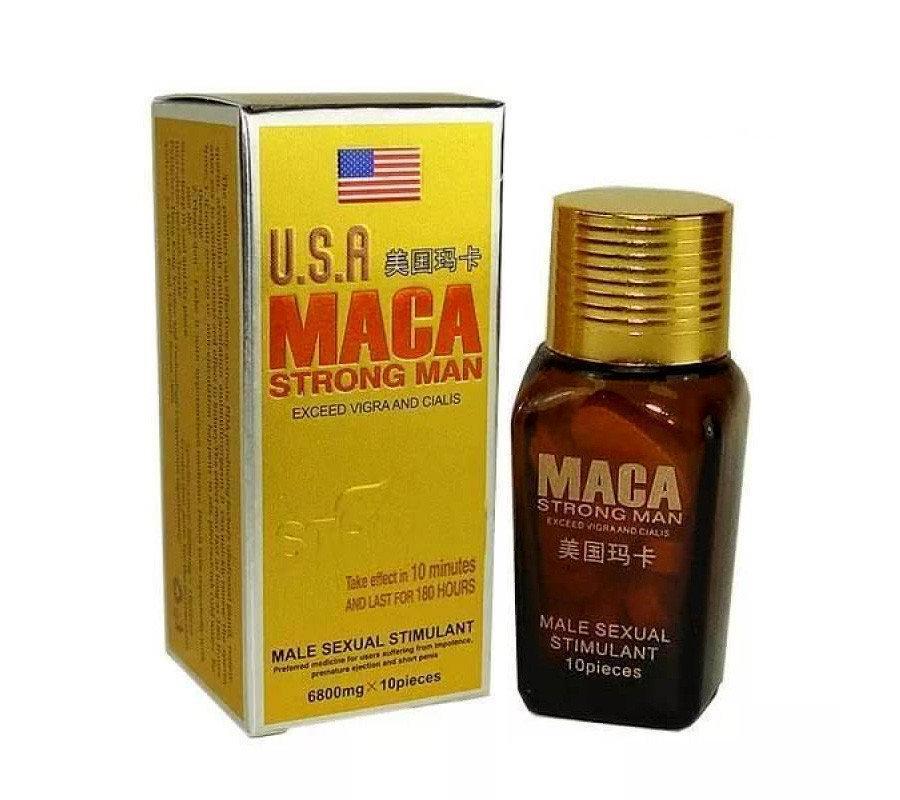 Таблетки для потенції maca strongman (маку стронгмэн) 10 таблеток