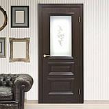 Дверь межкомнатная Омис Сан Марко 1.2 СС+КР стекло бронза, фото 3