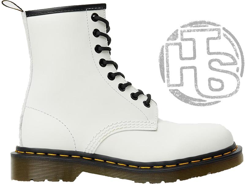 Женские ботинки Dr.Martens 1460 Smooth White 14357100