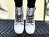 Женские ботинки Dr.Martens 1460 Smooth White 14357100, фото 4
