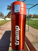 Термос Tramp 0,35 л червоний металік TRC-106-red. Кружка термос 350 мл. Термосы термокружки
