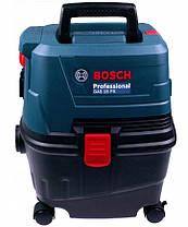 Пилосос для вологого і сухого прибирання 1100 Вт / 15 л / Bosch GAS 15 PS Professional, фото 2