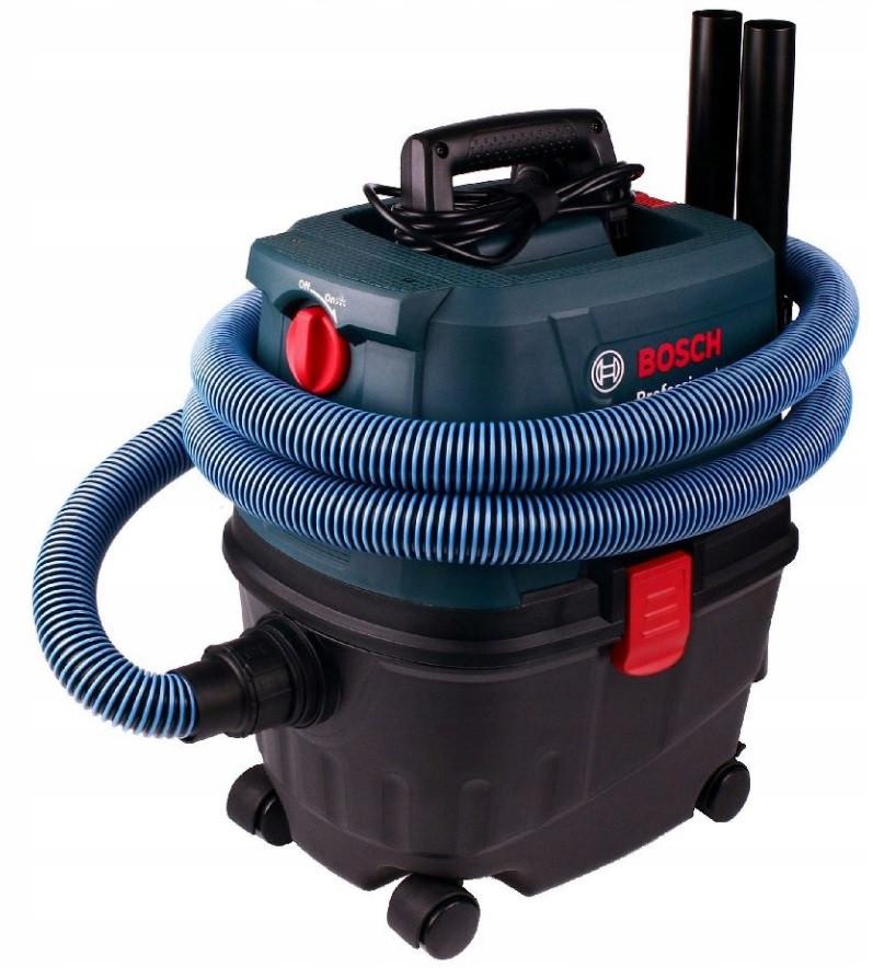Пылесос для влажной и сухой уборки 1100 Вт / 15 л / Bosch GAS 15 PS Professional