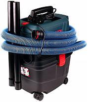 Пылесос для влажной и сухой уборки 1100 Вт / 15 л / Bosch GAS 15 PS Professional, фото 2
