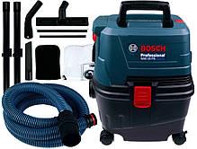 Пилосос для вологого і сухого прибирання 1100 Вт / 15 л / Bosch GAS 15 PS Professional, фото 3