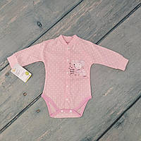 Боди для девочки на 6-9 месяцев (интерлок)