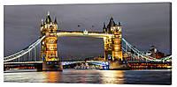 Картина на холсте Декор Карпаты Мост 50х100 см (g422)