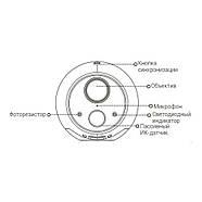 Внутренняя IP-камера Wi-Fi Hikvision CS-CV316 (2.0), фото 3