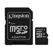 IP-видеокамера Foscam C1+Kingston MicroSDHC 16GB Class 10 UHS-I+SD адаптер (SDCS/16GB), фото 4