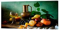 Картина на полотні Декор Карпати Натюрморт 50х100 см (750)