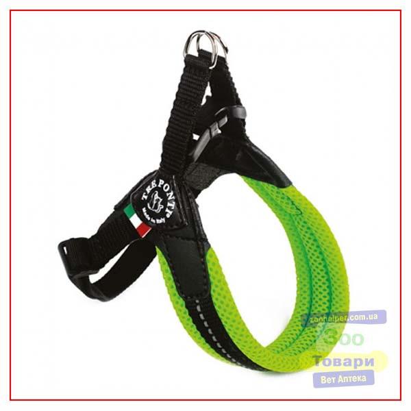 Шлея Tre Ponti Fluo Mesh,зеленый, RR0201V size 1,5 (3-4 kg) (Tre Ponti)
