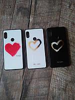 Стильний  чехол For Love для телефону Xiaomi Redmi Note 5  захист на сяоми ксиоми редми ноте нот 5 стеклянний