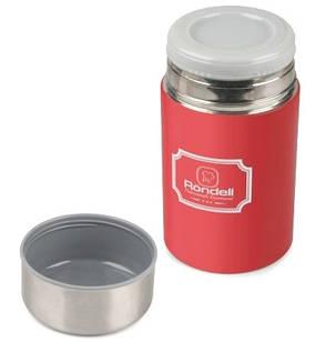 Термос для еды RONDELL RDS-945 0.35 / 0.8 л 2в1 Picnic Red, фото 2