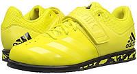 Штангетки Adidas Powerlift 3 для тяжелой атлетики, желтые, фото 1